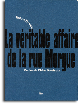 la veritable affaire de la rue morgue